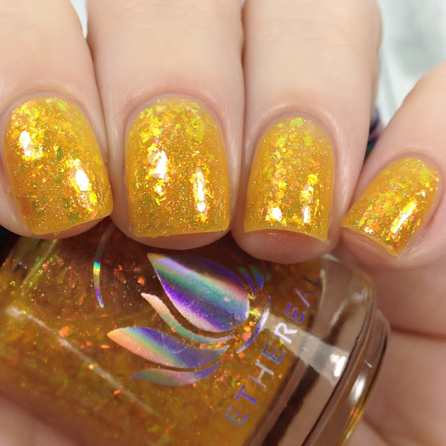 Ethereal Lacquer-Gilded Galaxy