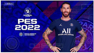 Download PES 2022 PPSSPP Latest Kits And Transfer Season 2021-2022 & English Commentary
