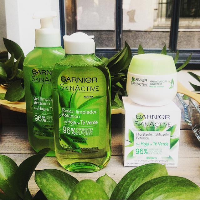 Gama Botánica de Garnier Skin Active