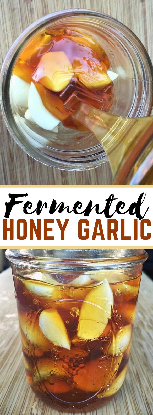 Fermented Honey Garlic Recipe #healthy #herbal