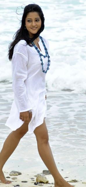 Ritu Barmecha Tollywood Actress Hot Thigh Pics At Beach Actress Trend