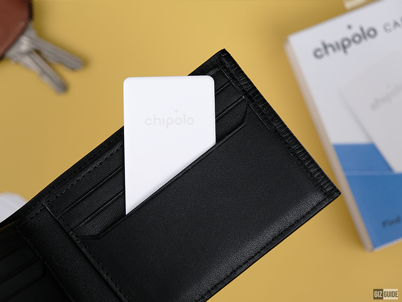 Meet Chipolo CARD - Forget forgetting with a thin and water-resistant tracker