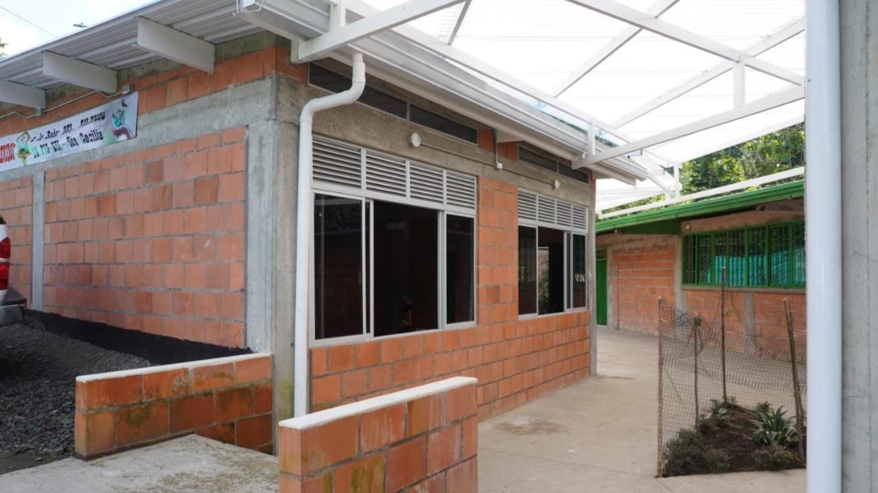 Gobernación postuló ante el MEN 312 sedes educativas rurales para mejoramientos locativos