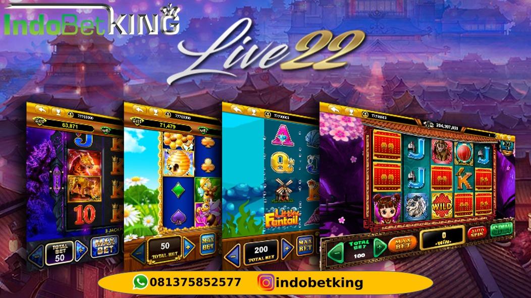 AGEN SLOT GAME TARUHAN ONLINE: Permainan Live22 Mudah