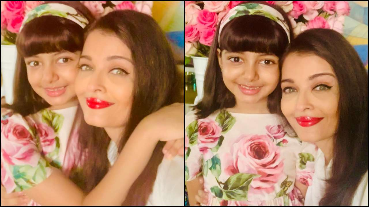 """Beauty Couples: Aishwarya Rai Bachchan shares love-filled selfies with """"angel"""" Aaradhya from birthday celebrations"""