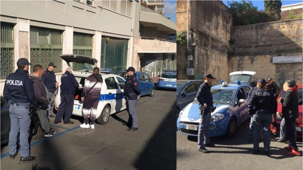 Parcheggiatori abusivi Polizia