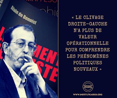 Faut-il craindre le populisme ? Alain de Benoist