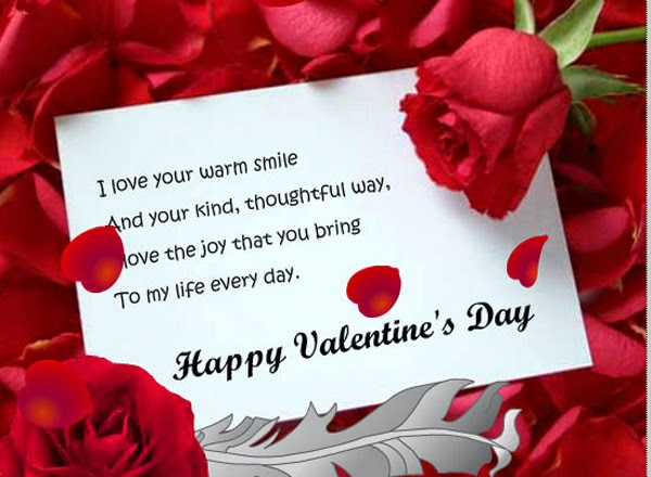 Happy Valentines Day Messages For Him | Valentine Jinni