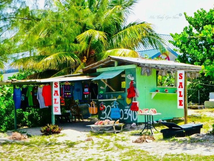 Are you seduced by a charming storefront? This one is on Grand Cayman Island | Ms. Toody Goo Shoes