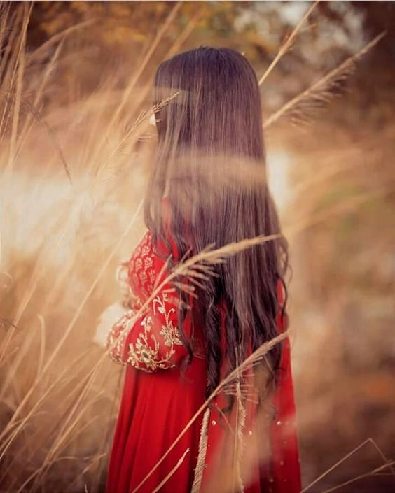 Girl Hide Face DP Collection for WhatsApp