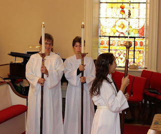 St. John's Episcopal Church Halifax Virginia acolytes
