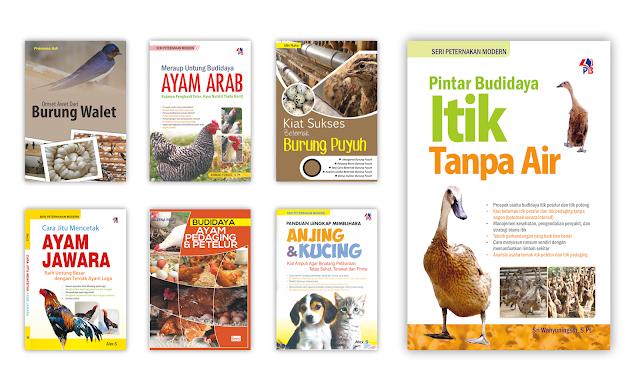 Buku Budidaya Peternakan Untuk Koleksi Perpustakaan Desa