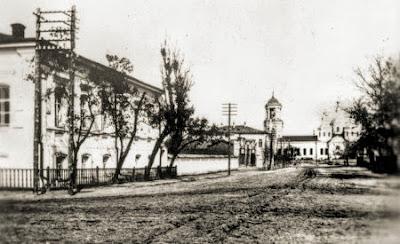 Старобельск. Свято-Скорбященский женский монастырь. Фото 1911 г.