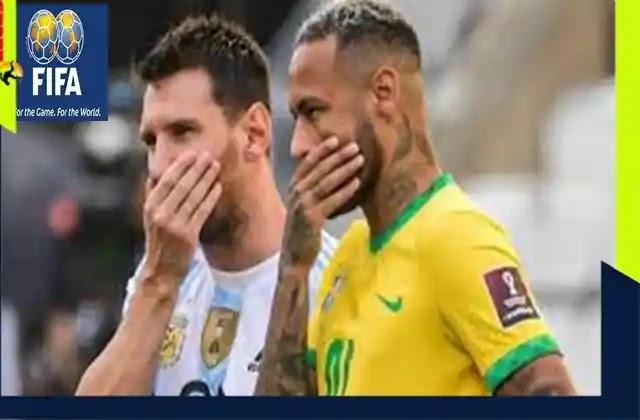 الاتحاد الدولي كرة القدم يصدر قرارات جديدة بشأن أزمة البرازيل و الارجنتين