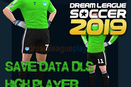 Download Save Data (profile.dat) Pemain Tinggi Dream League Soccer