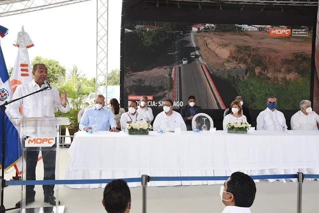 El presidente Abinader inaugura obras por un superior a los RD$711 millones en 3 provincias del Cibao