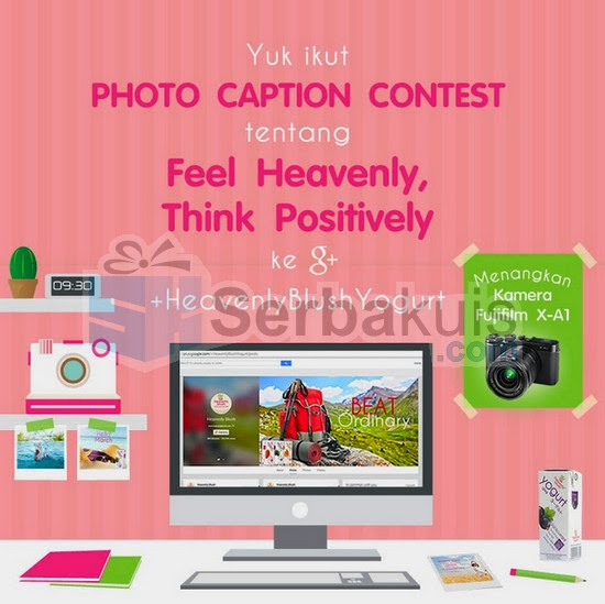 Photo Caption Contest Heavenly Blush