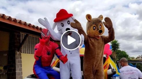 Prefeitura de Macajuba realiza entrega de doces para crianças do Município