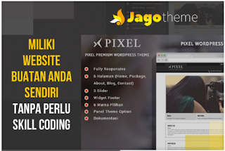 Pixel theme wordpress