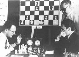 Partida Vallés – Lupi en el IV Torneo Internacional de Ajedrez de Sabadell 1945