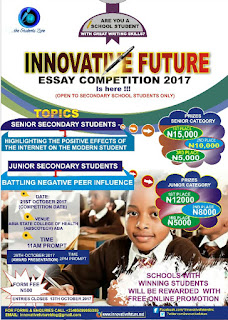Innovative Future Essay Writing Competition 2017