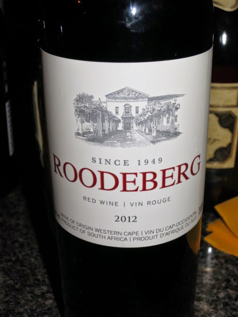 Wine Review of 2012 KWV Roodeberg Red from WO Western Cape, South Africa