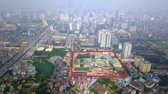 Cháy nhà máy Rạng Đông để xây chung cư cao tầng trên khu đất Rạng Đông?