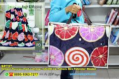 Selimut Rossinni Fruit Lollypop 150×200 Cm Pattern Biru Polyester Blanket