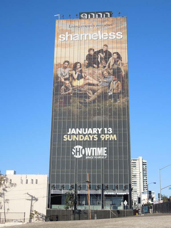 Giant Shameless season 3 Showtime billboard