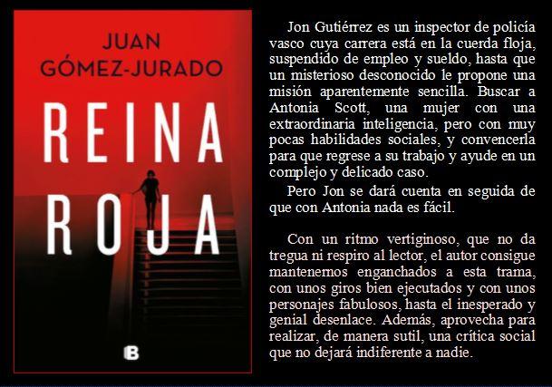Reina Roja de Juan Gómez Jurado