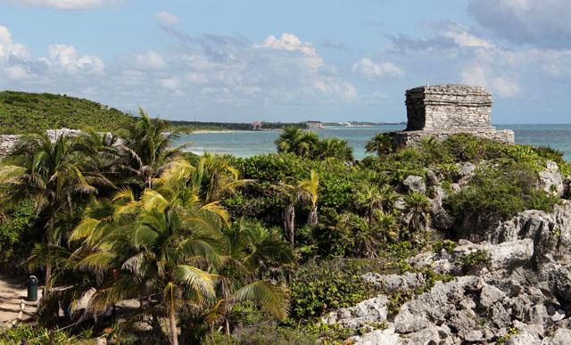 Tulum, la fortaleza maya a orillas del Caribe