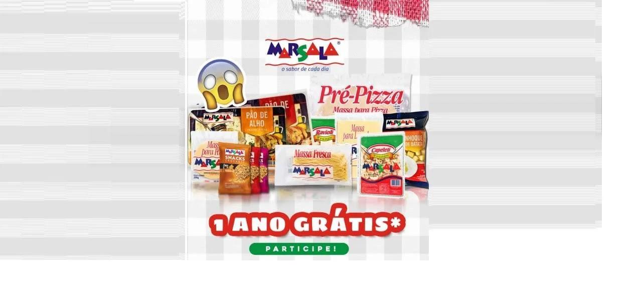 Promoção Marsala Alimentos 1 Ano Produtos Grátis - Ganhe Kit Todo Mês