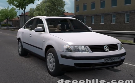 ETS2 1.37 Volkswagen Passat B5 Araba Modu İndir 2020