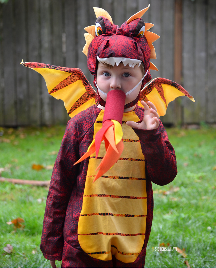 how to make dragon fire for costume