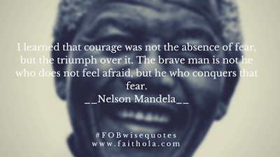 FOB WISE QUOTES BY NELSON MANDELA
