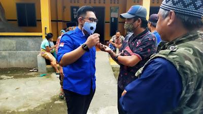 RESES: Anggota Komisi IV DPRD NTB, Nauval Furqony Farinduan, usai kegiatan reses, Sabtu (13/2)
