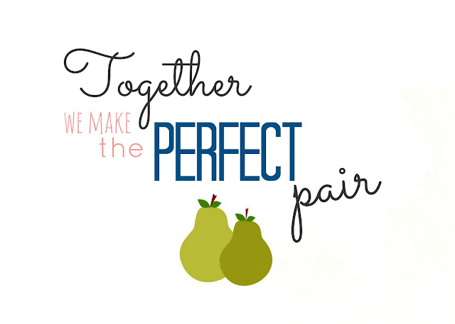 Quot The Perfect Pair Quot Free Printable Sweet Charli