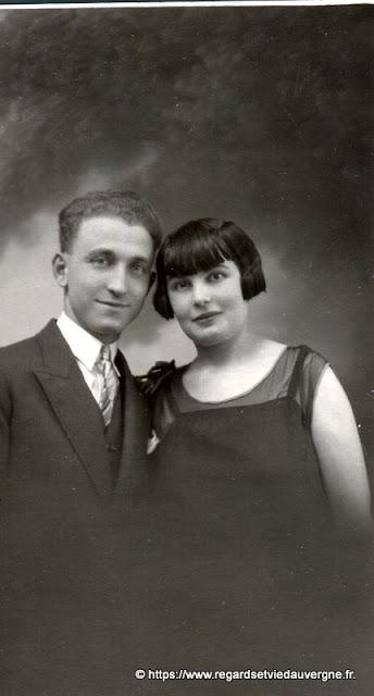 Photo de famille noir et blanc : couples