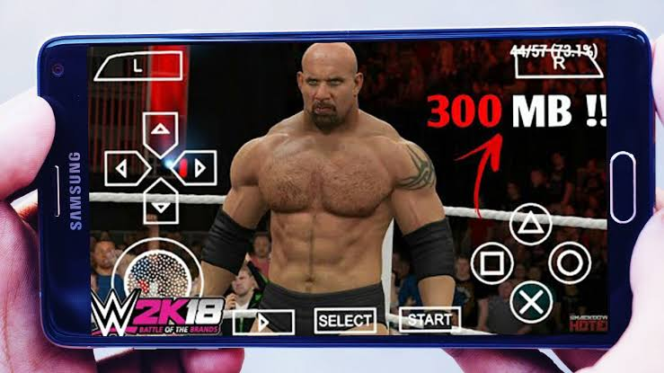 300MB WWE 2K18 GAME DOWNLOAD FOR ANDROID