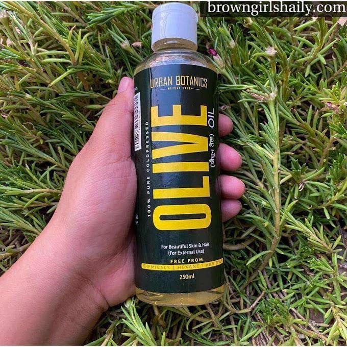 Urban Botanics Olive Oil Review