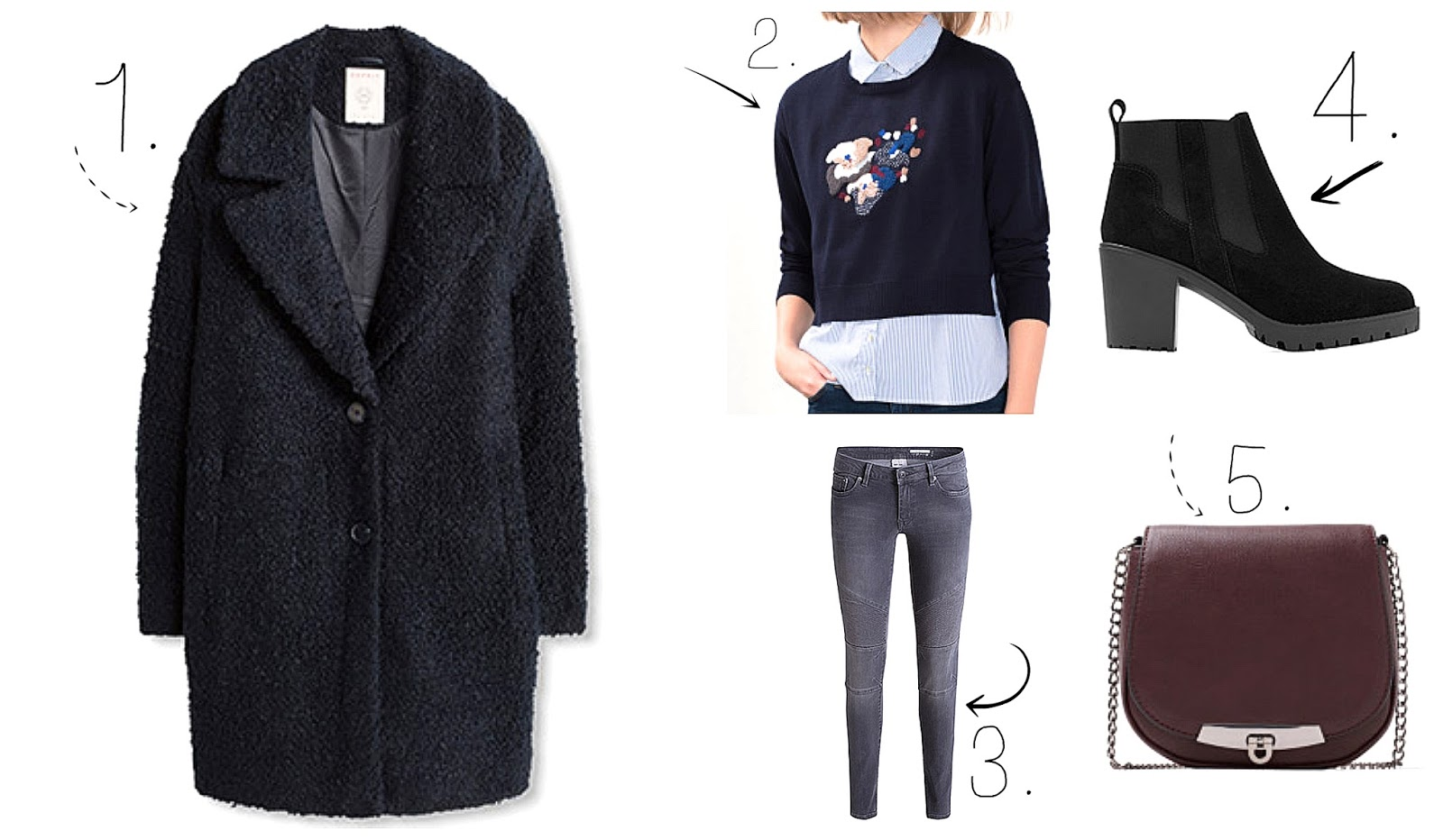 Two outfits for Autumn & Winter