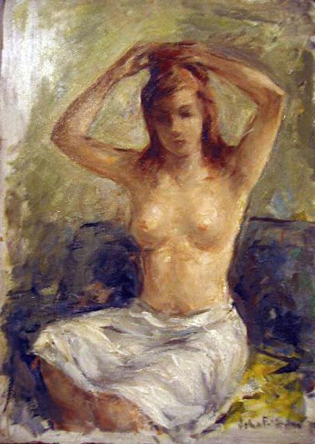 John F. Folinsbee, Artistic nude, The naked in the art,  Il nude in arte, Fine art