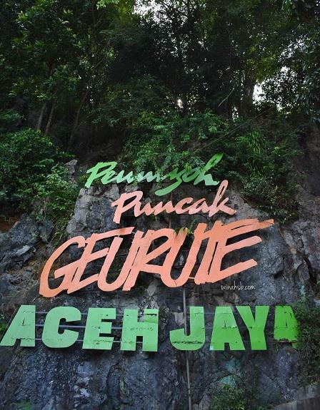 Puncak Geurute Aceh Jaya
