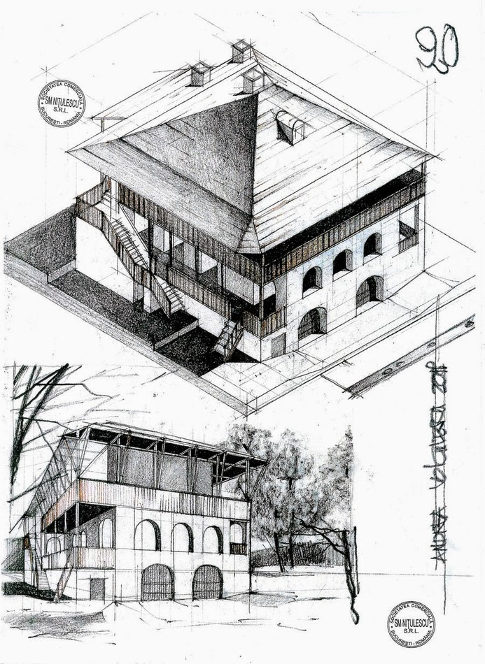 12-Casa-Cartianu-Andrea-Voiculescu-Drawings-of-Historic-Architecture-www-designstack-co