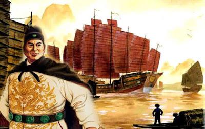 Biografi Laksamana Cheng Ho     Cheng Ho adalah seorang kasim Muslim yang menjadi orang kepercayaan Kaisar Yongle dari Tiongkok (berkuasa tahun 1403-1424), kaisar ketiga dari Dinasti Ming. Nama aslinya adalah Ma He, juga dikenal dengan sebutan Ma Sanbao, berasal dari provinsi Yunnan. Ketika pasukan Ming menaklukkan Yunnan, Cheng Ho ditangkap dan kemudian dijadikan orang kasim. Ia adalah seorang bersuku Hui, suku bangsa yang secara fisik mirip dengan suku Han, namun beragama Islam.  Dalam Ming Shi (Sejarah Dinasti Ming) tak terdapat banyak keterangan yang menyinggung tentang asal-usul Cheng Ho. Cuma disebutkan bahwa dia berasal dari Provinsi Yunnan, dikenal sebagai kasim (abdi) San Bao. Nama itu dalam dialek Fujian biasa diucapkan San Po, Sam Poo, atau Sam Po. Sumber lain menyebutkan, Ma He (nama kecil Cheng Ho) yang lahir tahun Hong Wu ke-4 (1371 M) merupakan anak ke-2 pasangan Ma Hazhi dan Wen. Saat Ma He berumur 12 tahun, Yunnan yang dikuasai Dinasti Yuan direbut oleh Dinasti Ming. Para pemuda ditawan, bahkan dikebiri, lalu dibawa ke Nanjing untuk dijadikan kasim istana. Tak terkecuali Cheng Ho yang diabdikan kepada Raja Zhu Di di istana Beiping (kini Beijing).  Di depan Zhu Di, kasim San Bao