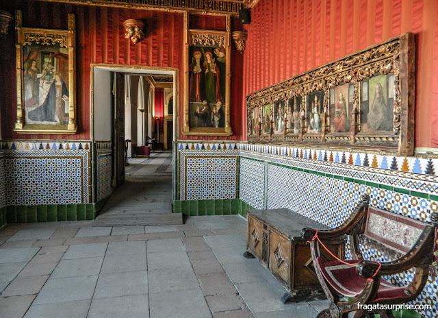 Aposentos reais do Alcázar de Segóvia