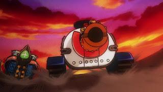 ワンピースアニメ 989話 ワノ国編 | ONE PIECE ブラキオタンク5号 Brachio Tank