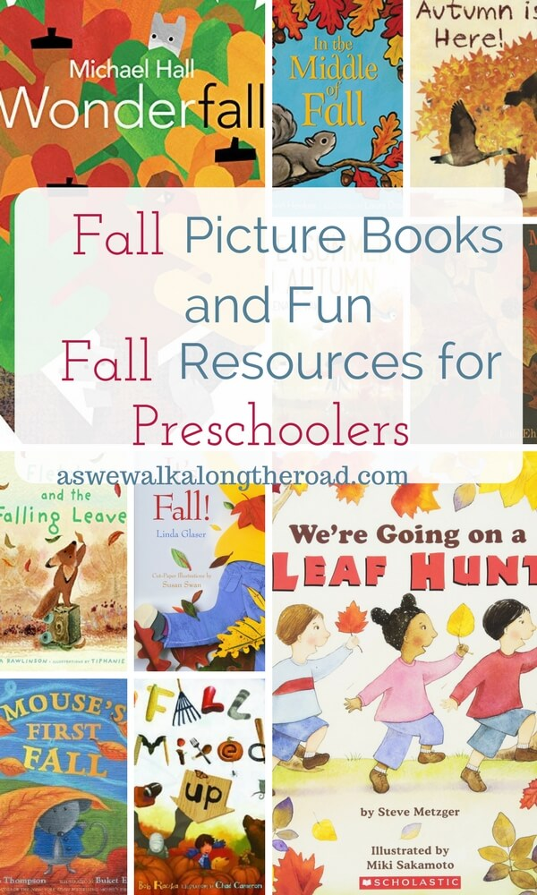 Fall books and activities for preschool