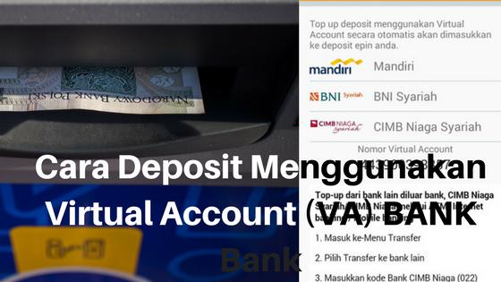 Cara Mudah Deposit Paytren Menggunakan Virtual Account (Va) Bank