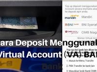 Cara Mudah Deposit Paytren Menggunakan Virtual Account (Va) Bank yang Wajib Mitra Ketahui